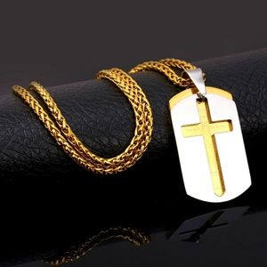 Other - The Lord's Prayer dog tag